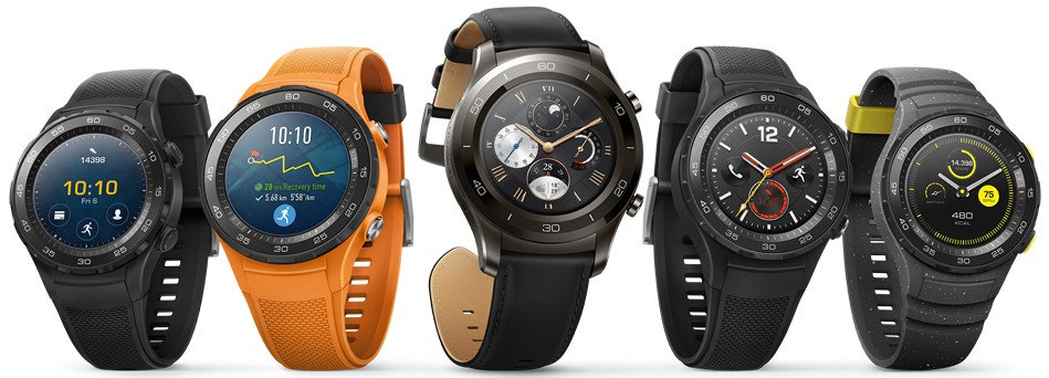 Huawei Watch 2 Android Wear montre connectée